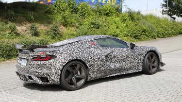 2023 Chevrolet Corvette Z06 proto – back end