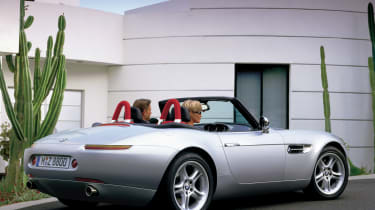BMW Z8 – rear quarter
