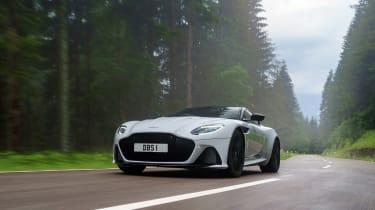 Aston Martin DBS Superleggera review - front