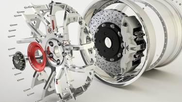Wheelsandmore McLaren 720S – Fork wheels