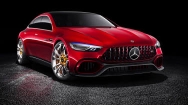 Mercedes-AMG GT Concept front static