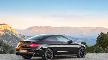 Mercedes-AMG C43 Coupe - rear quarter
