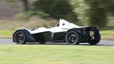 BAC Mono white rear