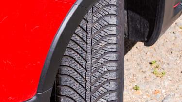 Fiat Panda Cross - Tyres