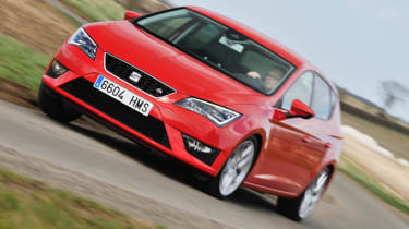 2013 SEAT Leon FR TDI 184 red front