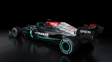 2021 Formula 1 racers – Merc