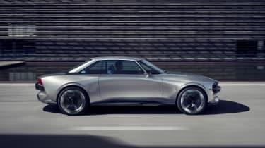 Peugeot e-Legend concept - profile