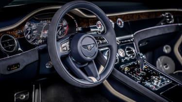 Bentley Continental GT Convertible Speed – cabin