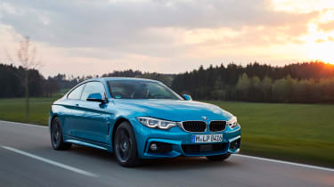 2017 BMW 4 Series Coupe - Front