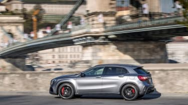 2017 Mercedes-AMG GLA45 - Side