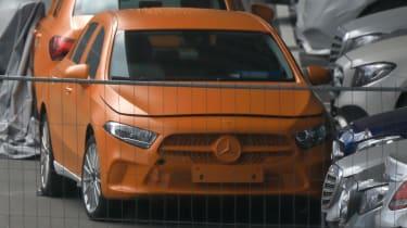 Mercedes A-Class spy - front