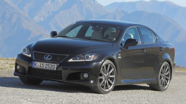 New Lexus IS-F front