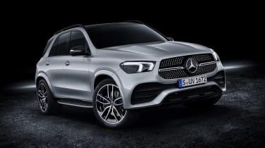 Mercedes GLE AMG-line - front quarter