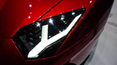 Lamborghini Aventador J front light