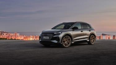 Audi Q4 e-tron – front quarter