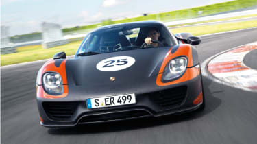 evo Magazine: July 2013 Porsche 918 Spyder