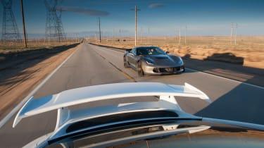 ZO6 v 911 GT3 US - rear