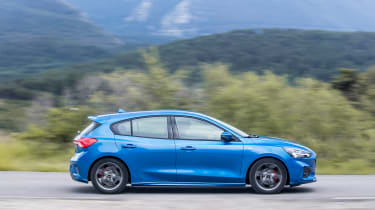 Ford Focus ST-Line review - side
