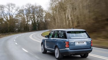 Range Rover P400e PHEV rear three quarters