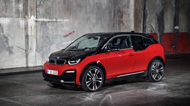 BMW i3s - static front