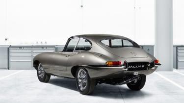 Jaguar E-Type classic rear