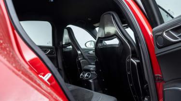 Alfa Romeo Giulia Quadrifoglio review LCI – seats