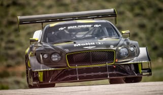 Bentley Continental GT3 Pikes Peak – on loc