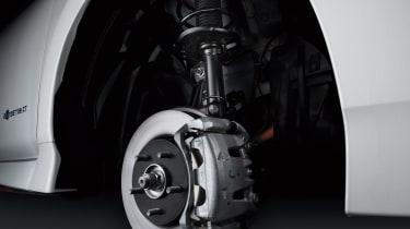 Nissan Leaf Nismo brakes