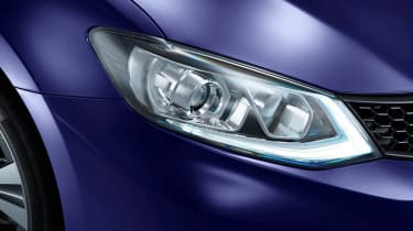 Nissan Pulsar headlight