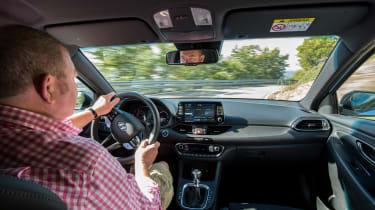 Hyundai i30 N  - interior driving