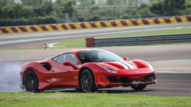 Ferrari 488 Pista – side