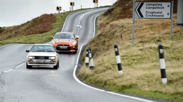 Audi Quattro and Nissan GT-R
