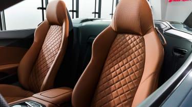 Audi R8 Spyder facelift - seats