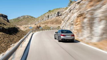 BMW M5 Competition review - rear