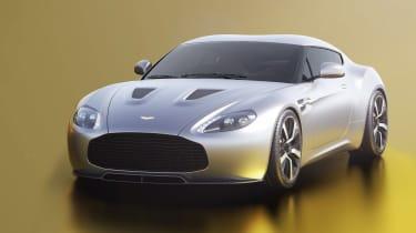 Aston Martin V12 Vantage Zagato R-Reforged front render