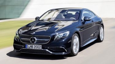 Mercedes S65 AMG Coupe front driving