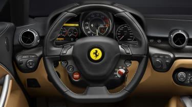 New Ferrari F12 Berlinetta interior
