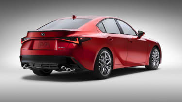 Lexus IS500 F Sport - rear quarter