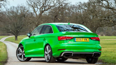 Audi RS3 saloon – rear quarter