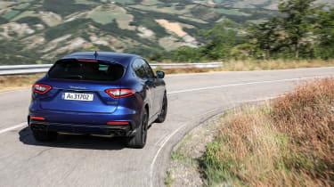 Maserati Levante Trofeo review - rear quarter