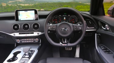 Kia Stinger GT-S UK - interior