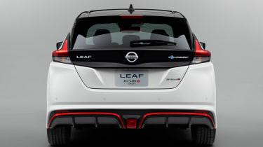 Nissan Leaf Nismo concept officials rear