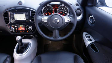 Driven: Nissan Juke Shiro 1.5 dCi interior dashboard