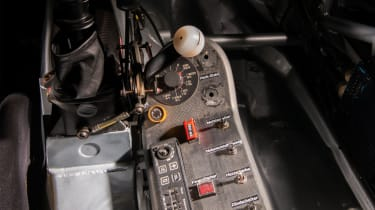 Audi A4 Super Tourer - centre console, and brake bias and anti-roll bar adjustment
