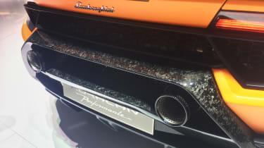 Lamborghinin Huracan Performante - Exhaust