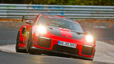 911 GT2 RS lap ring record