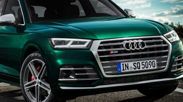 Audi SQ5 TDI 2019 - nose