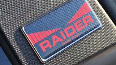 Renaultsport Clio 200 Raider special edition badge