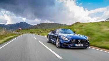 Mercedes-AMG GT Roadster - 2021 front