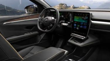 Renault Megane E-Tech Electric - interior